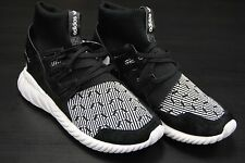 [S80096] NEW MEN'S ADIDAS ORIGINALS TUBULAR DOOM BLACK WHITE ADM109