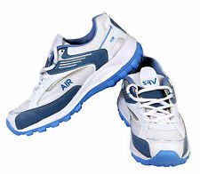 AIR Sports Shoes for Men, Comfortable and Sporty, White and Blue
