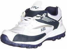SRV Sports Cool Air White and Deep Blue Running Shoes