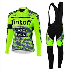 COMPLETO CICLISMO BICI TEAM Tinkoff 2016 SAXO BANK - AUTUNNALE / INVERNALE