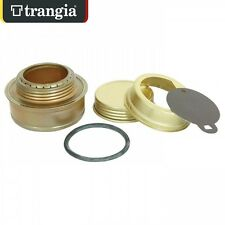 TRANGIA SPIRIT STOVE B25 WITH SCREW CAP & SIMMER RING BRASS MADE IN SWEDEN