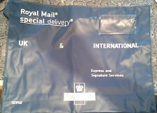 ZIPPED ROYAL MAIL SPECIAL DELIVERY INTERNATIONAL & U.K BLUE PRIORITY POUCH INTL