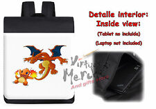 MOCHILA CHARIZARD CHARMANDER POKEMON POKEMONS backpack rucksack ES