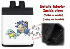 MOCHILA SQUIRTLE BLASTOISE POKEMON EVOLUTION backpack rucksack ES