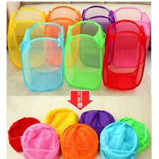 Various Large Laundry Hamper Bag Clothes Storage Basket Kids Toy Bucket Bin