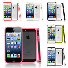 Accessorio Cover Custodia Silicone Gel Paraurti Lusso Apple iPhone 5/ 5S