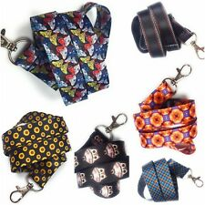 Lanyard Neck Strap with Metal Clip for ID Card Phone keyring key badge holder