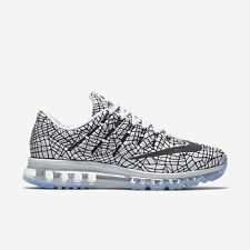 Men's Nike Air Max 2016 Print Running Shoes - Pure Platinum/White/Black