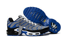 Nike Air Max Plus TN Mens Trainers Shoes - Comfortable Sneakers - (Gray/Blu