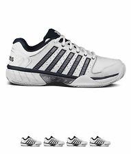 PALESTRA K Swiss Hypercourt Express LTR Tennis Shoes White/Navy/Silv