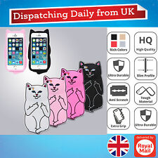 3D Cute Cartoon Middle Finger Novelty Fun Silicone Soft Phone Case For iPhone