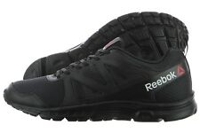 Reebok Run Supreme 2.0 MT AR2999 Black Mesh Running Training Shoes Medium M