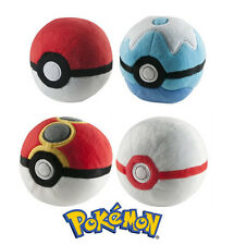 Pokemon POKE BALL Plush Soft Toy by TOMY Official Merchandise NEW & IN STOCK NOW