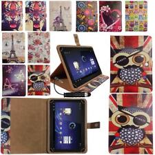 "Stylish Wallet Case Cover Fits it New British 10"" Tablet PC Tablet & Stylus"