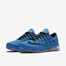 Nike Air Max 2016 Photo Blue/Total Orange/Black Mens Running All NEW