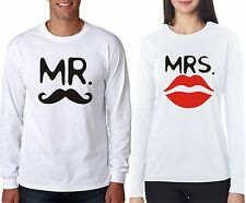 osiyankart Full sleeves mr. mrs couple t shirt 4 all hot and sexy couple in love