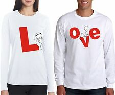 osiyankart full sleeves love couple t shirt 4 all hot and sexy couple in love