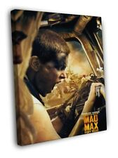Mad Max Fury Road Imperator Furiosa Charlize Theron FRAMED CANVAS PRINT Toile