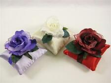 Artificial Flowers Velvet Rose Scented Cushion w/ Rose Fragrance Wedding Favours