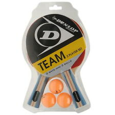 Dunlop Table Tennis Bat for Intermediate and Pro Players (Single & Set for 2)