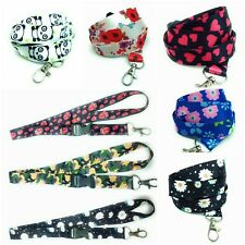 Spirius Neck Strap keyring Lanyard with Clip for ID Card Badge Holder phone