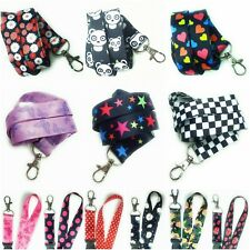 Spirius Neck Strap Lanyard with Metal Clip for ID Card document Badge Holder