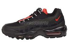 Nike Air Max 95 Essential Running Mens Shoes Black Red 749766-016