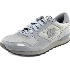 Skechers  Mens Charcoal Grey Retro Running  Athletic Sneakers Shoes 52032/C