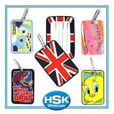 PVC - Rubber Luggage Tags - Novelty Funky Fun Characters, Tweetie Pie Dastardly