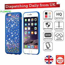 New Bling Silicone Glitter Armor ShockProof Case Cover For Apple iPhone 6 6S
