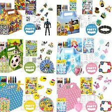 Boys Girls Pre filled Party Bags Boxes For Birthdays Loot Bag Toys Fillers