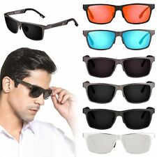 Fashion Men's Aluminum Polarized Driving Sunglasses Sports Mirrored Sun Glasses