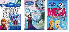 Xmas Girls Gift Stocking Frozen Colouring Book Colour Sticker Activity Books New