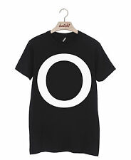 BATCH1 ALPHABET LARGE LETTER FASHION SLOGAN MENS T-SHIRT PERSONALISED LETTER O