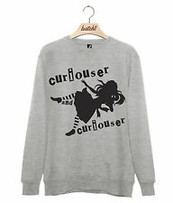 BATCH1 ALICE THROUGH THE LOOKING GLASS CURIOUSER MENS SWEATSHIRT JUMPER