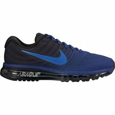 Men's Nike Air Max 2017 Running Shoe 849559-401 DEEP ROYAL BLUE/COBALT-BLAC