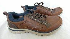 Nerw!!  Skechers Mens Superior Emens 64437 Relaxed Fit Brown Casual Shoe  G