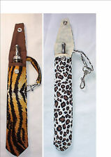 HANDMADE CHOICE OF 2 ANIMAL PRINT E-CIG CASE/POUCH,  VISION SPINNER EGO BATTERY