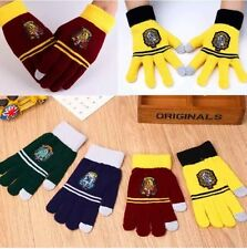 Harry Potter Gloves Cosplay Film Phone Gryffindor Hufflepuff Ravenclaw Slytherin
