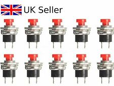 Mini Momentary On/Off Micro Push Button SPST Switch RED UK