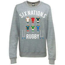 SIX NATIONS RUGBY TOURNAMENT WOMENS SPORTS COMPETITION SWEATSHIRT JUMPER