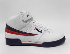 Fila Sports Men's F-13V Shoes White/Navy/Red 1VF059LX-15 a