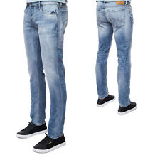 Jack & Jones Herren Jeans JJITIM JJORIGINAL GE 987 NOOS Slim Denim Stonewashed
