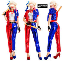 Simil Harley Queen Suicide Squad Vestito Carnevale Cosplay Woman Costume SQA003