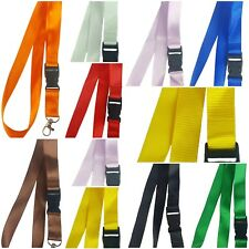 Detachable Lanyard Neck Strap with Metal Clip Phone Keyring ID badge holder gift
