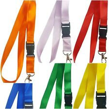 Lanyard Neck Strap Detachable with Metal Clip Phone Keyring ID badge holder UK