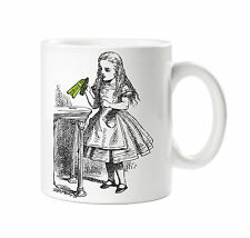 BATCH1 ALICE IN WONDERLAND THROUGH THE LOOKING GLASS DRINK ME BOTTLE PRINTED MUG