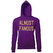 ALMOST FAMOUS WOMENS CELEBRITY FAME PRINTED HOODIE