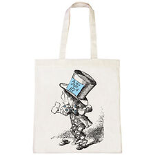 BATCH1 ALICE IN WONDERLAND THROUGH THE LOOKING GLASS MAD HATTER TOTE BAG SHOPPER