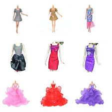 Pop  Fashion Handmade Clothes Dress For Barbie Doll Different Style